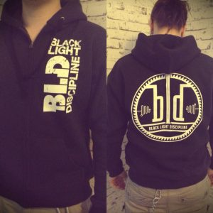 Hoodie with a logo